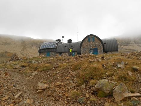 Refugio de Bayssellance, en la travesía al Vignemale
