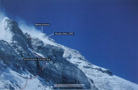 segundo escalón Everest
