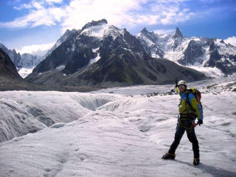 Glaciar-Montañero Cima