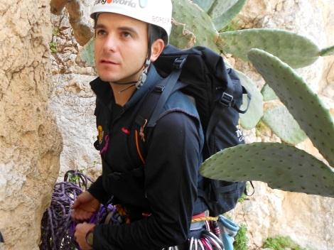 Escalando Peñón de Ifach Valencianos