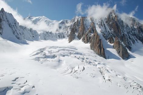 Glaciar Alpes