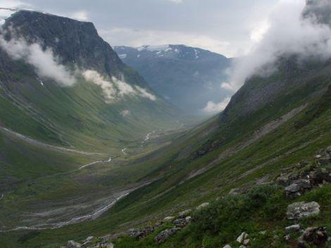Valle glaciar