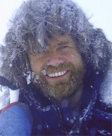 Messner-Montañero Cima