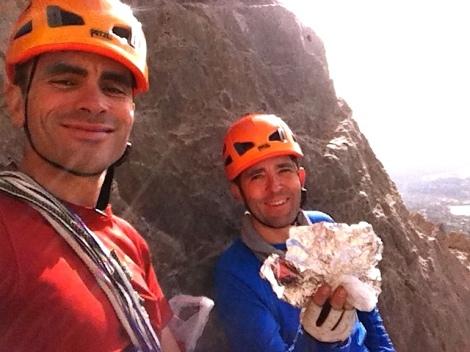 Reunión escalada-Montañero Cima