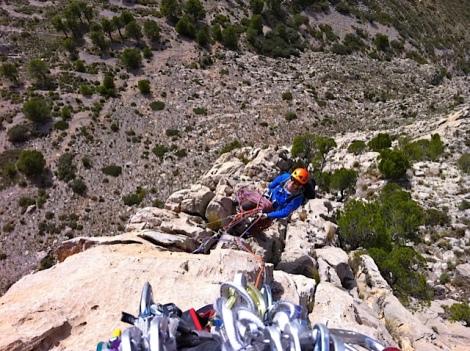 Escalada Puig Campana-Montañero Cima