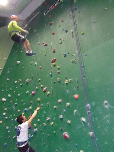 Aprender escalar-Montañero Cima