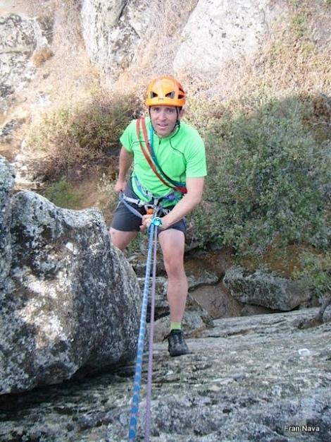 Aprender el Rapel-Montañero Cima