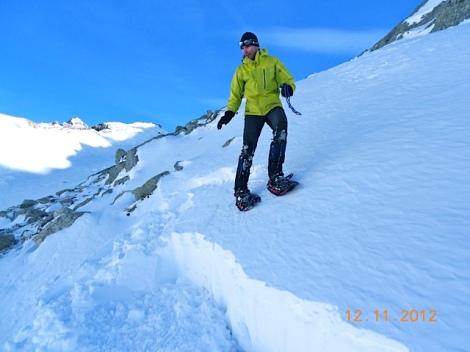 Aprender en la Nieve-Montañero Cima