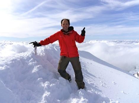 Mar de Nubes, en la cima del Monte Perdido