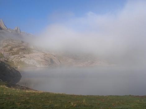 Niebla en montaña