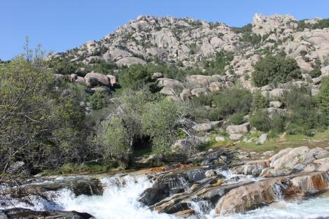 Río Manzanares, en La Pedriza