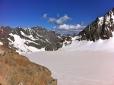 Vista izquierda del Glaciar desde el Refugio