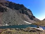 Lago inferior de la Munia