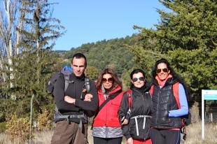 Hugo, Sandra, Isabel y María......al ataque!