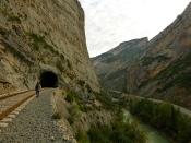 Tras el túnel, el acceso