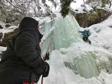 """Aseguramos fuera de la línea de caída del hielo (con tamaños de """"almendras"""" y de """"manzanas"""")"""