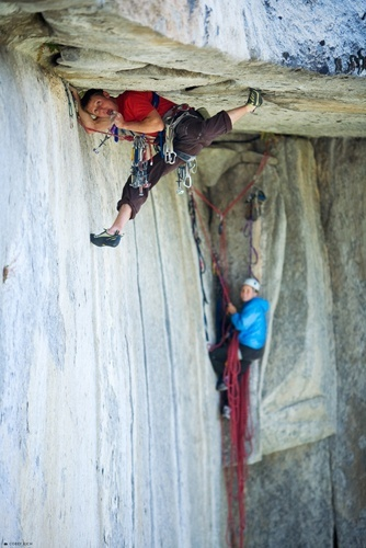 Tommy Caldwell en Dawn Wall